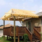 How To Build A Roof Over A Deck