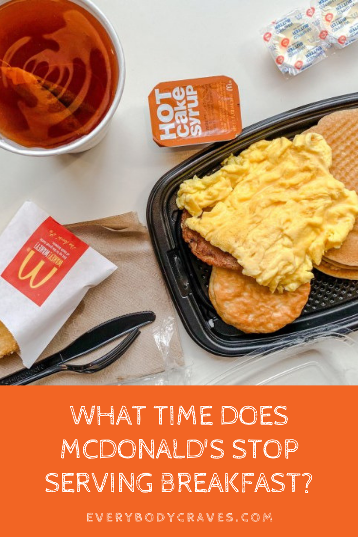 What Time Does Mcdonald S Stop Serving Breakfast Everybodycraves Fast Food Breakfast Full Breakfast Menu Mcdonalds Breakfast