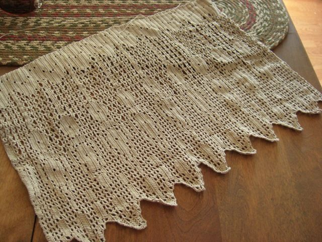 Free Crochet Patterns Kitchen Curtains More Information About