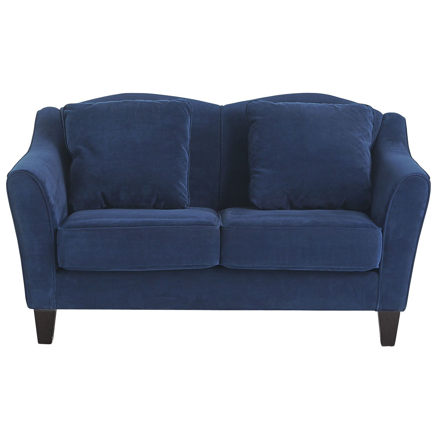 Abbie Sofa Navy Styles For Small Rooms Pier Brokeasshome