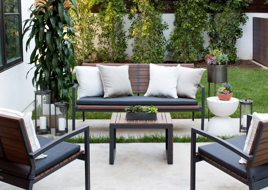 The Frame A Blog By Crate And Barrel Crate And Barrel Home Metal Outdoor Furniture Decor