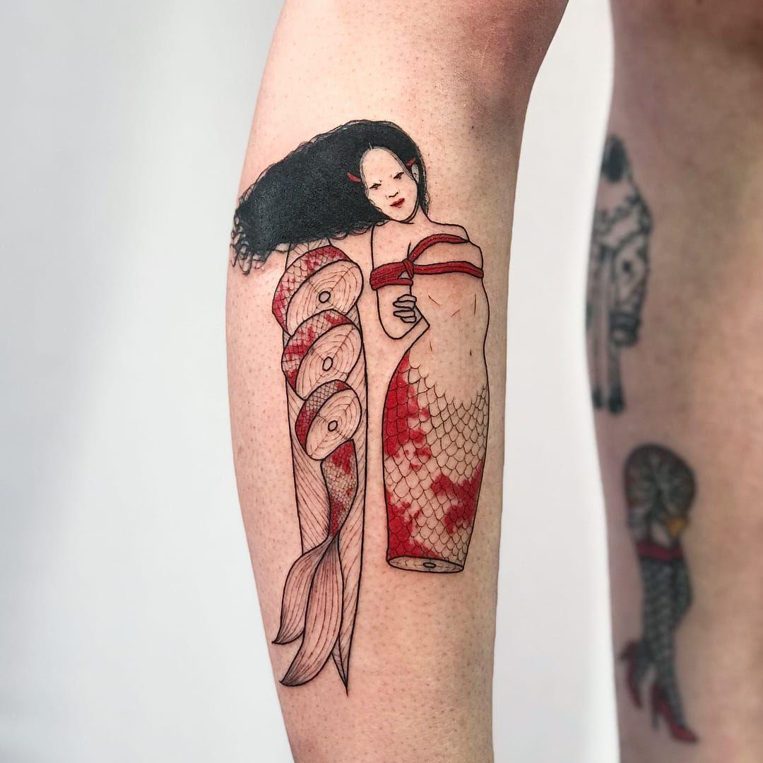 Tattoo by Suzani