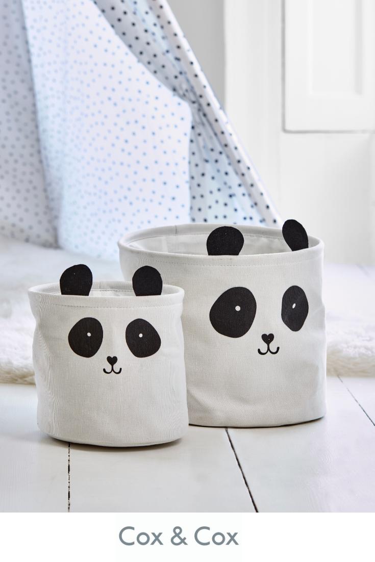 Small Panda storage bag