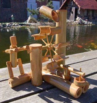 Bambus Wasserspiel S Pinterest Bambu Fuentes And Esculturas