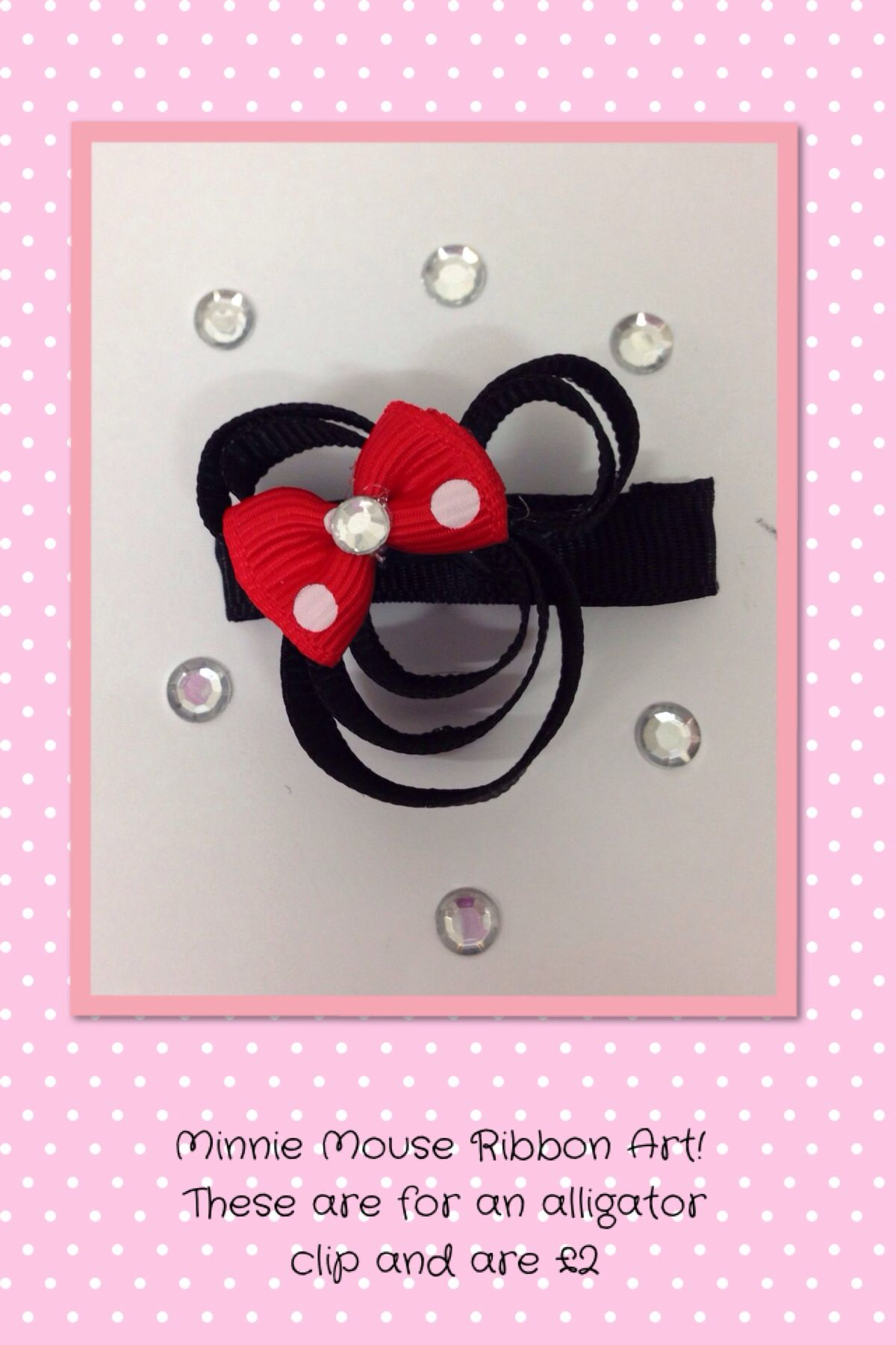 Minnie ribbonart