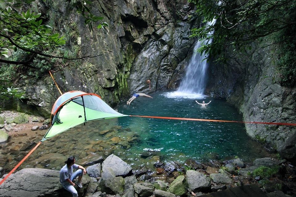 tentsile tree tents   incredible portable treehouses  bining the versatility of hammocks  u0026 the  fort  u0026 security of tents  take adventure to the next     the most awesome images on the inter    tree tent and hiking  rh   pinterest