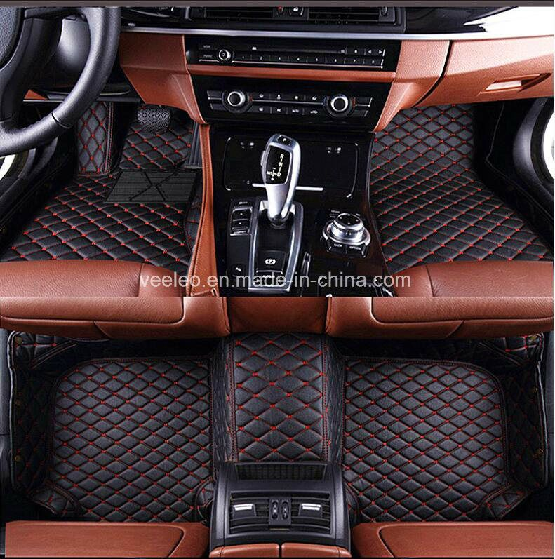 Hot Item 9 Colors Xpe Leather 5d Car Floor Mat Car Carpet Car