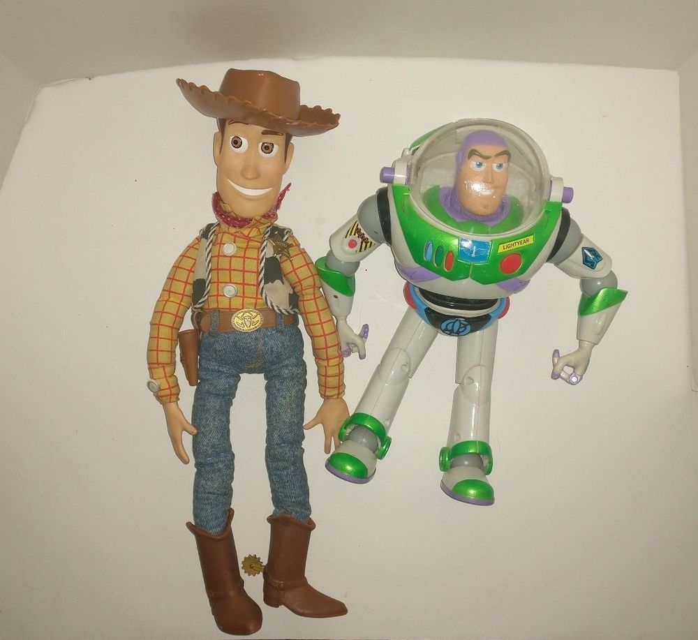 Toy Story Toys Vintage Toy Story Talking Buzz Lightyear Talking Woody Vintage