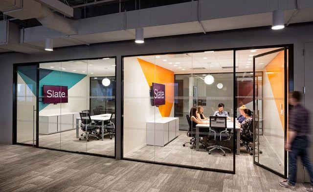 Visite à slate magazine new york usa bureaux architecture