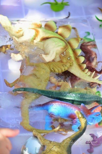 A house full of sunshine: Dino week - Dinosaur Ice Age!