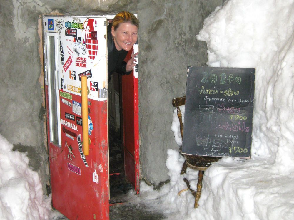 Japan bar entry through fridge door  Image by Patrick Thorne