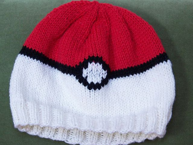 Pokeball Hat Free Pattern  4f45058f612f