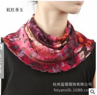 >> Click to Buy << Silk scarf female set of head scarf 100 mulberry silk scarves with ever fake collar collar #Affiliate