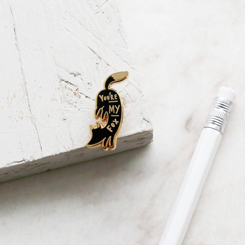 Wooden Pin Paddle Lapel Pin