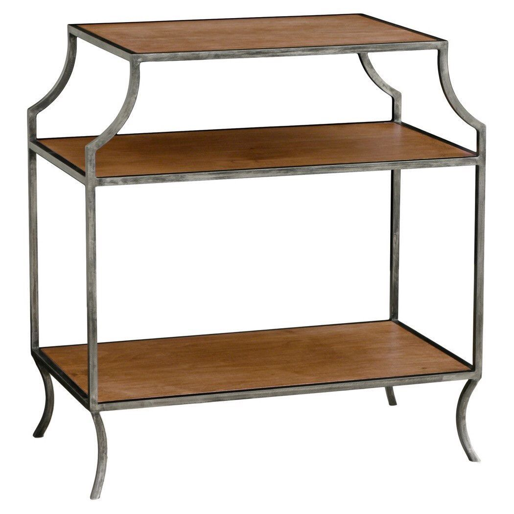 3 Shelf Milla Side Table (Wood)