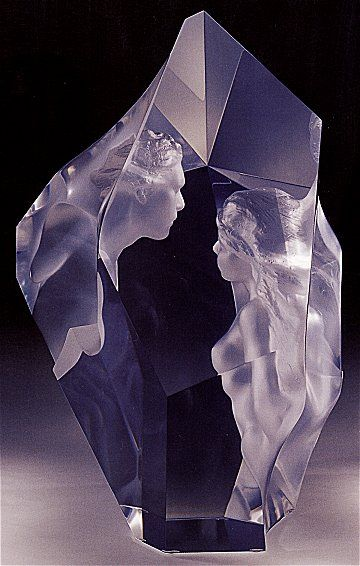 'Prologue' - Acrylic sculpture by Frederick Hart.