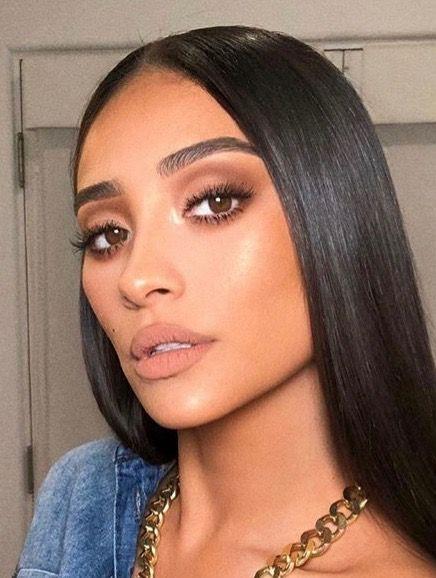 Brown makeup #softglammakeup