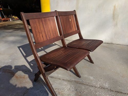 Magnificent Antique Theater Seating Vintage Industrial Theater Caraccident5 Cool Chair Designs And Ideas Caraccident5Info