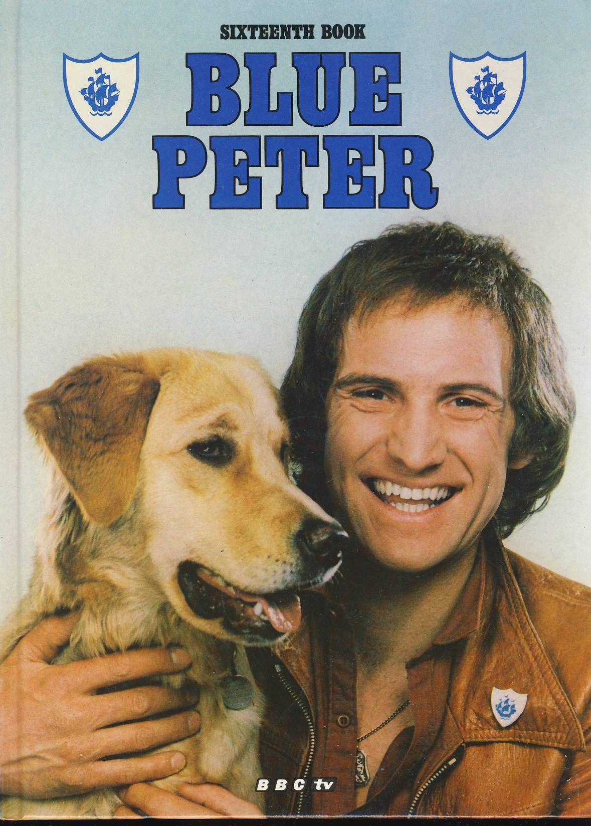 C420 1979 blue peter annual sixteenth book bbc tv blue