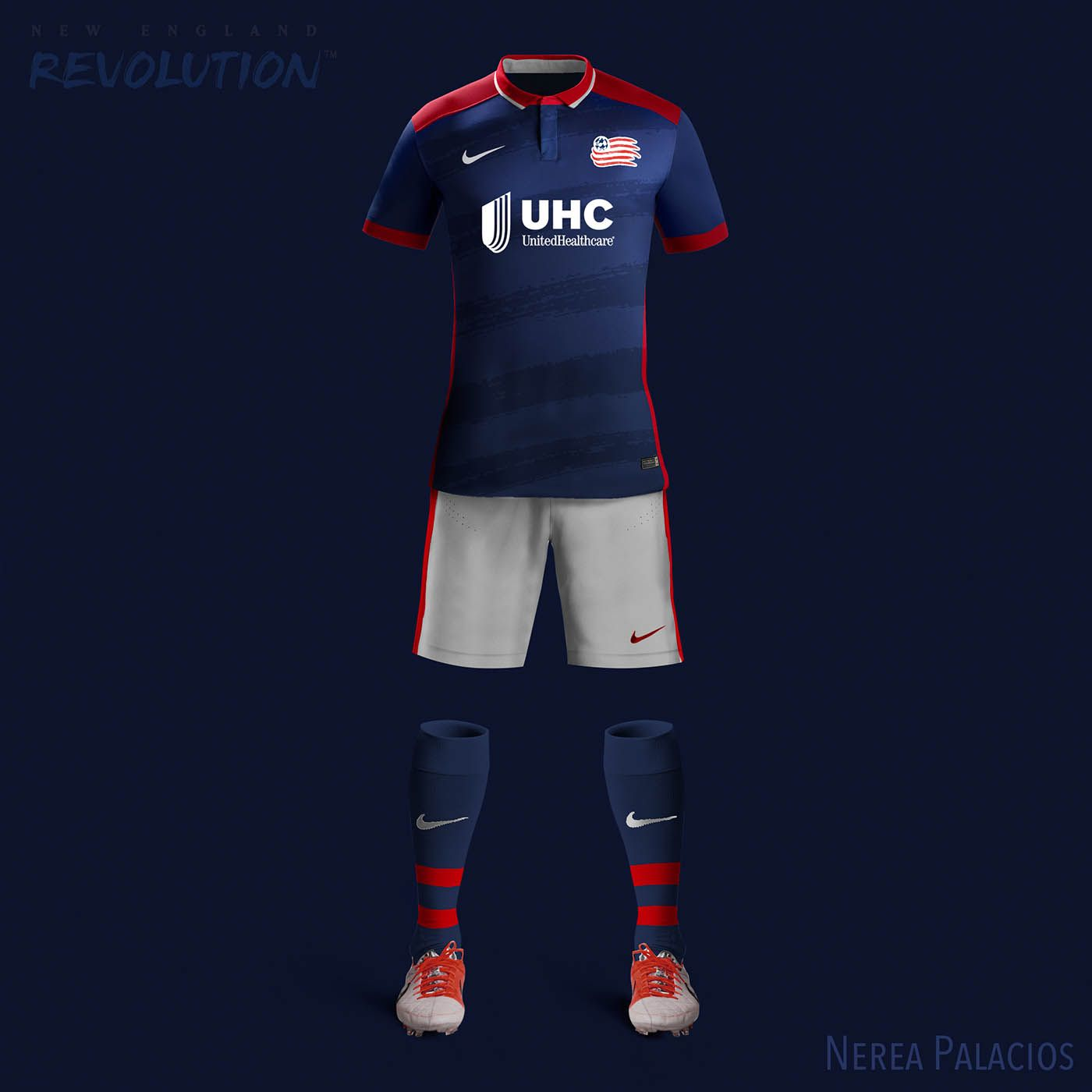 9c7a4091ad1 Nike MLS Concept Kits by Nerea Palacios | New England Revolution ...