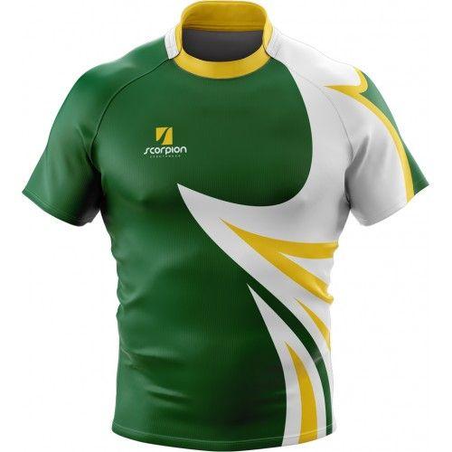 Scorpion Rugby Shirts Uk 29 Camisetas Deportivas Camisa De Futbol Uniformes De Futbol