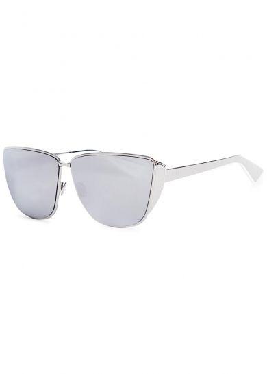 018f18fbed8 Dior Futurist palladium mirrored sunglasses - All Accessories - Women - New  In
