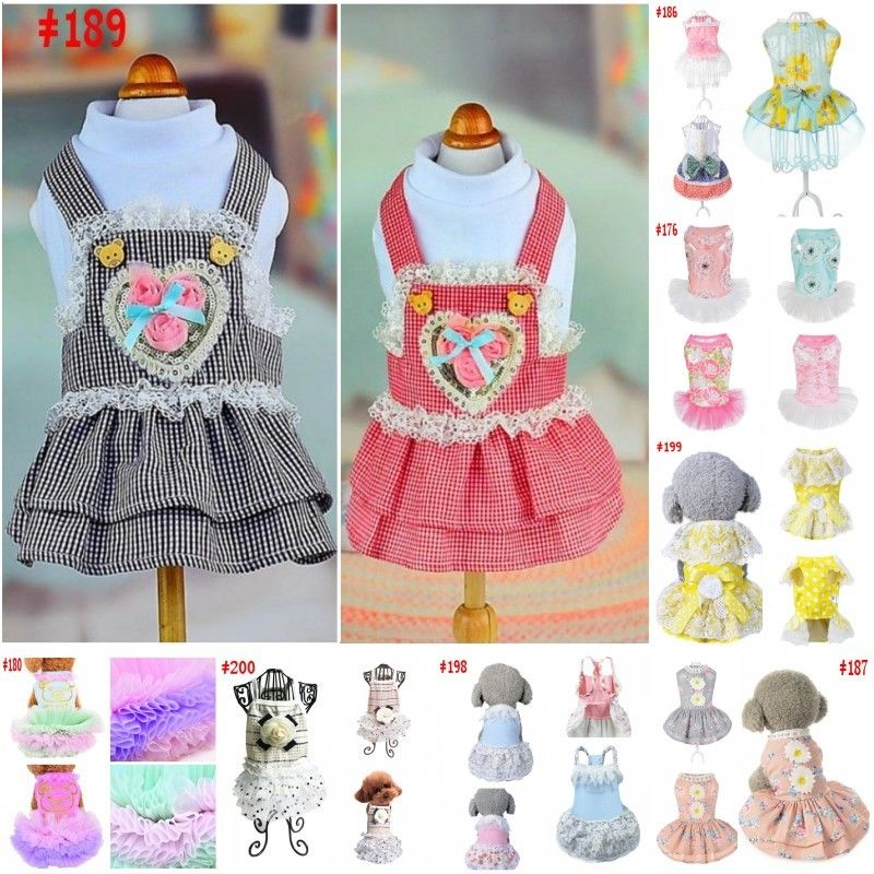 Dog Dress Size XS Pet Puppy Pup Clothes Attire Light Pink Mummy\'s ...