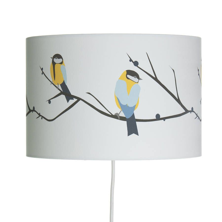 Great Blue Tit Lampshade