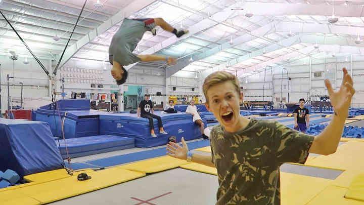 World S Most Famous Gymnastics Park Tanner Fox Tanner Fox Gymnastics Fox