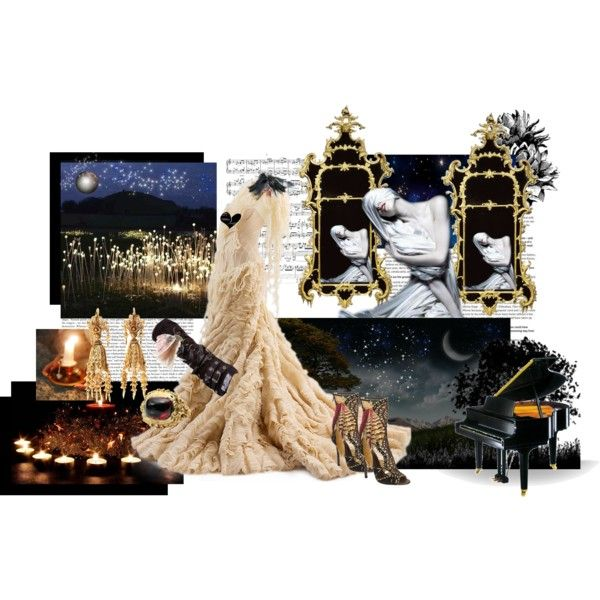 """Inspired by the video """"My Heart Is Broken"""" by Evanescence created by liz324.polyvore.com"""