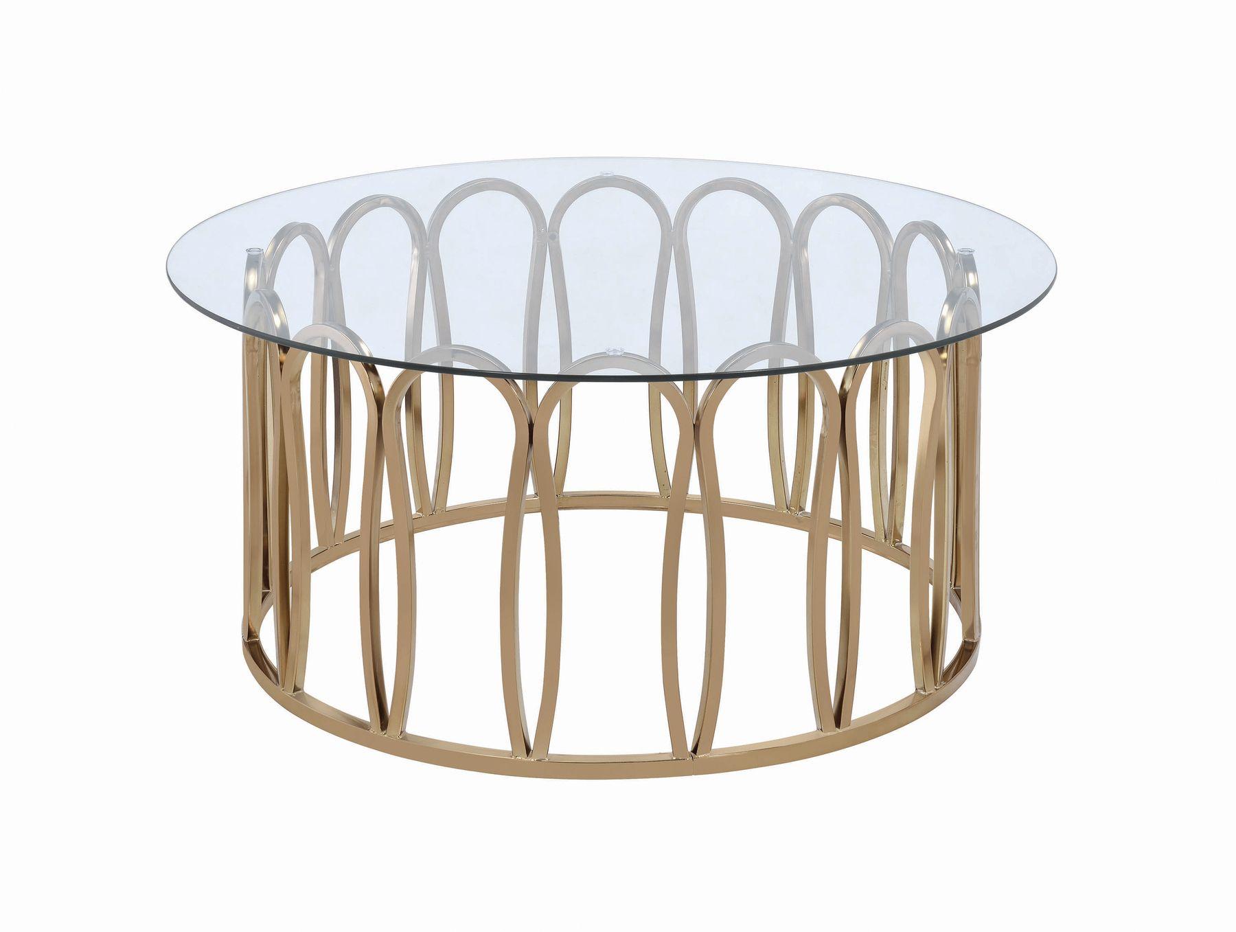 Cs058 Coffee Table 708058 Coaster Furniture Coffee Tables Coffee Table Round Coffee Table Round Glass Coffee Table [ 1357 x 1800 Pixel ]