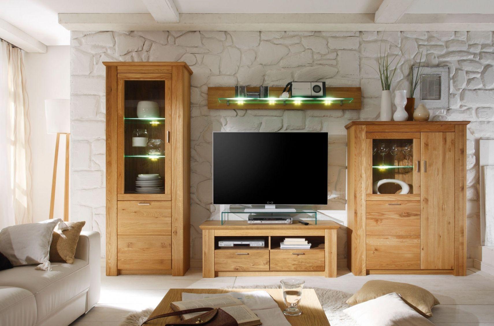 Inspirierend Wohnzimmermöbel Wildeiche  Home design
