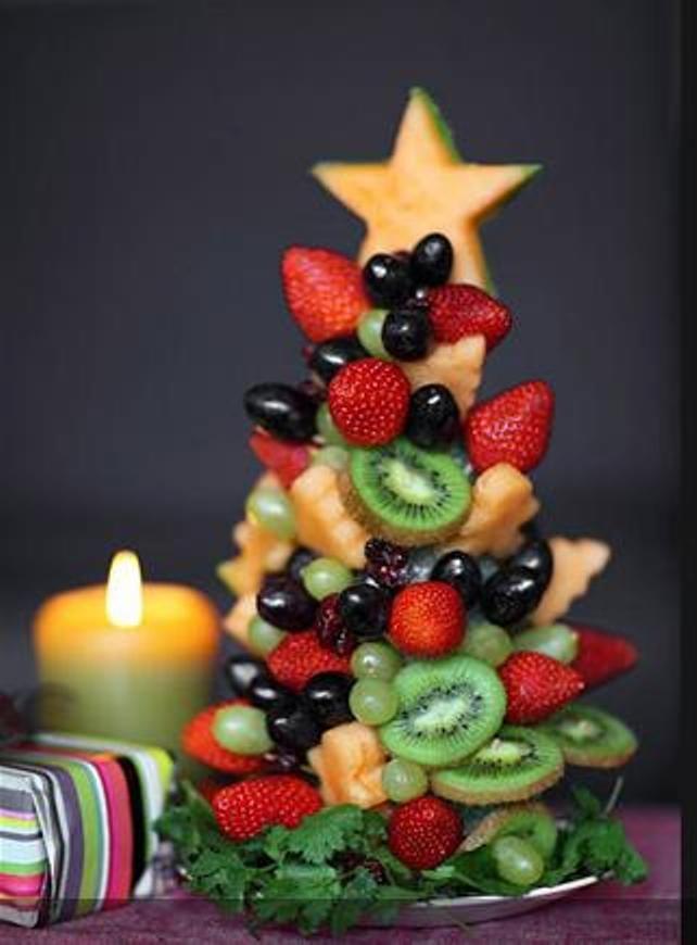 Arvore de Natal de Frutas