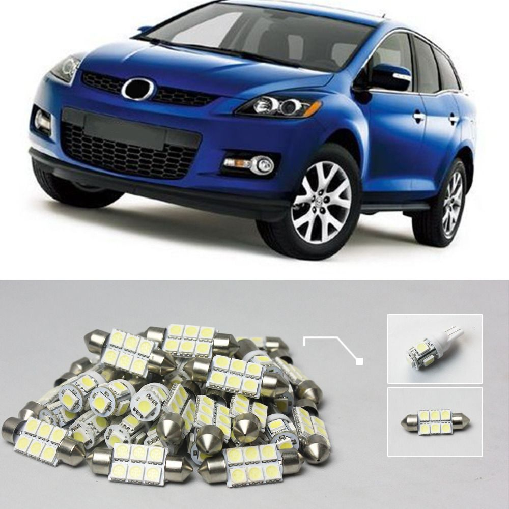 Car Styling Free Shipping 30 10x White Led Light Canbus