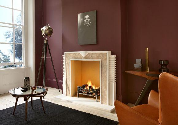 Wall Colour Love  Art Deco