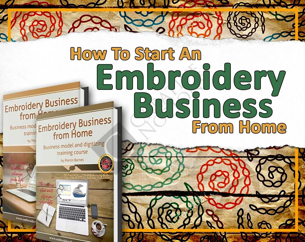 Embroidery Business Course How To Start An Embroidery Business Embroidery Machine Embroidery Projects Machine Embroidery
