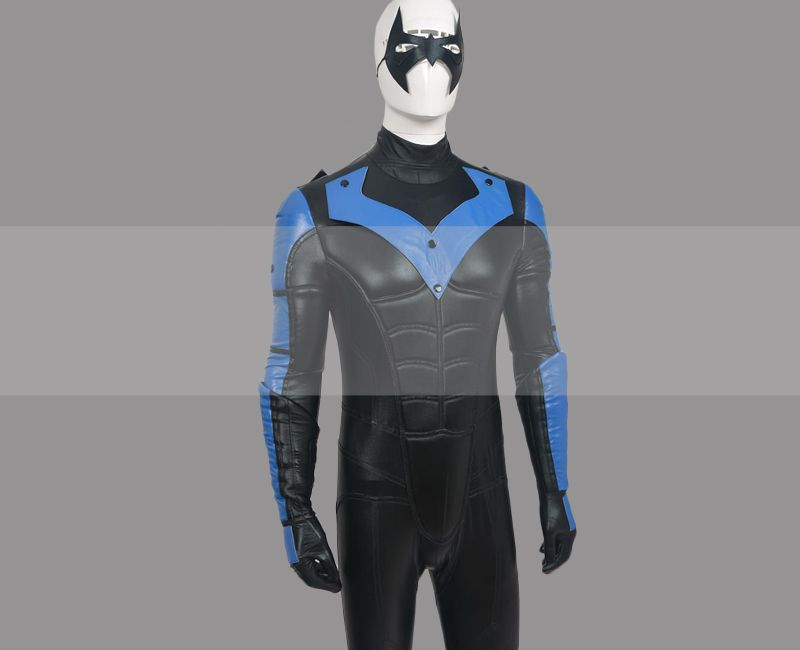 Batman Arkham City Nightwing Costume Cospaly Suit for Sale ...