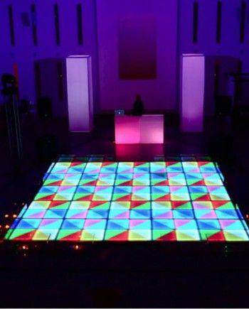 LED Disco Dance Floor in 2020   Led dance, Light up dance ...