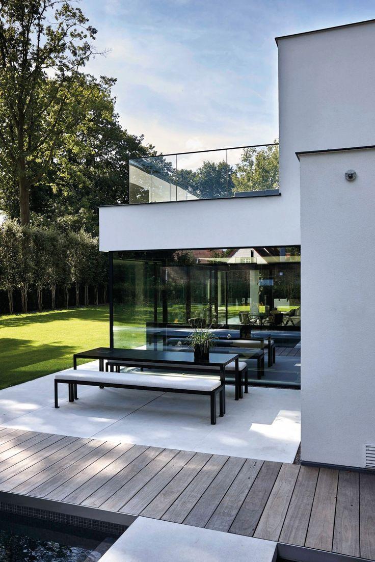 Villabouw | Dumobil - Tielt - West-Vlaanderen - Architecture Designs #modernegärten
