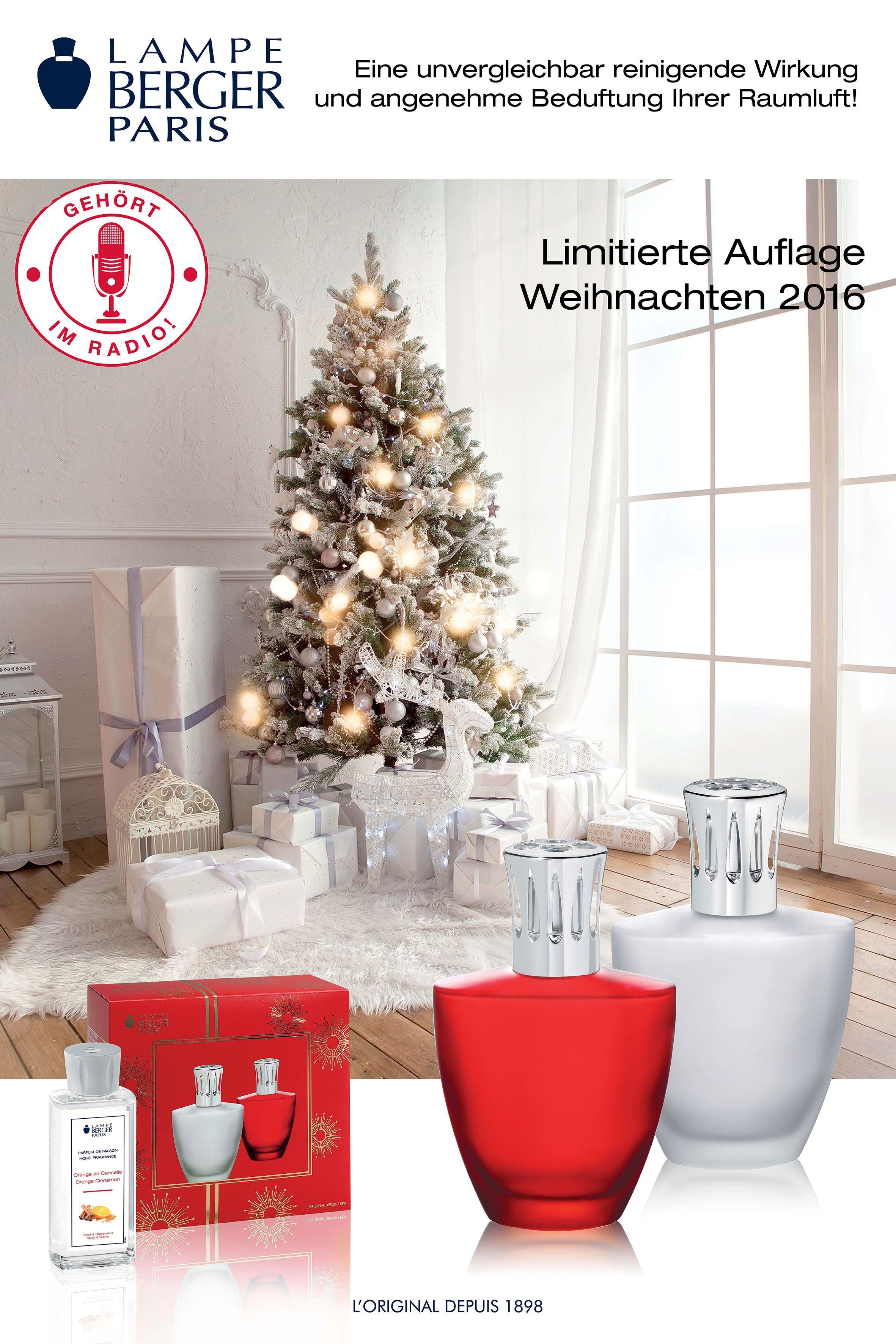 Weihnachts Berger Paris SetLooms Lampe Lampen uOkZiPXT