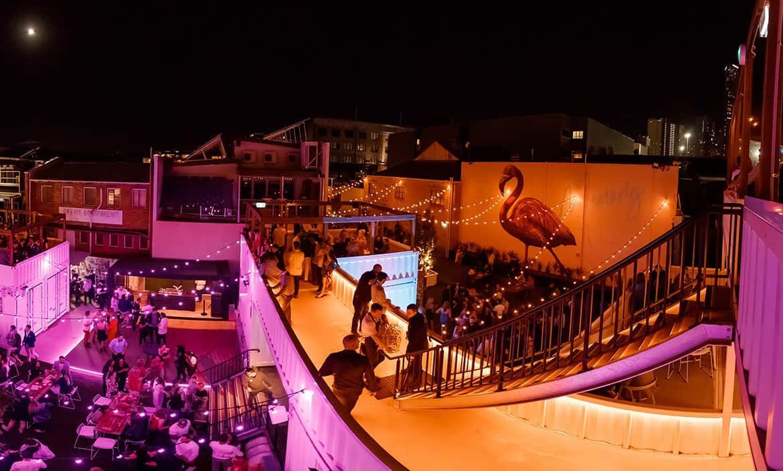X Cargo Brisbane, Drinks, Dining