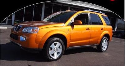 This Has Been May Favorite Car Thus Far   2006 Orange Fusion Saturn Vue. It