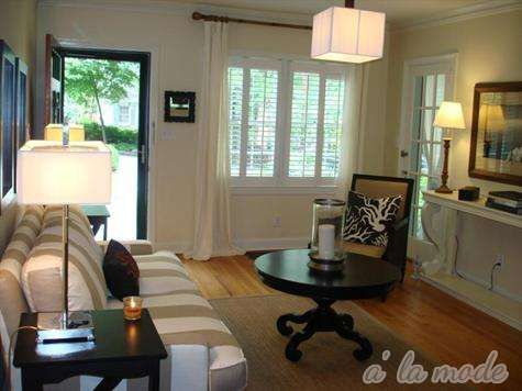 No entryway living room small entry pinterest living for Homes without dining rooms