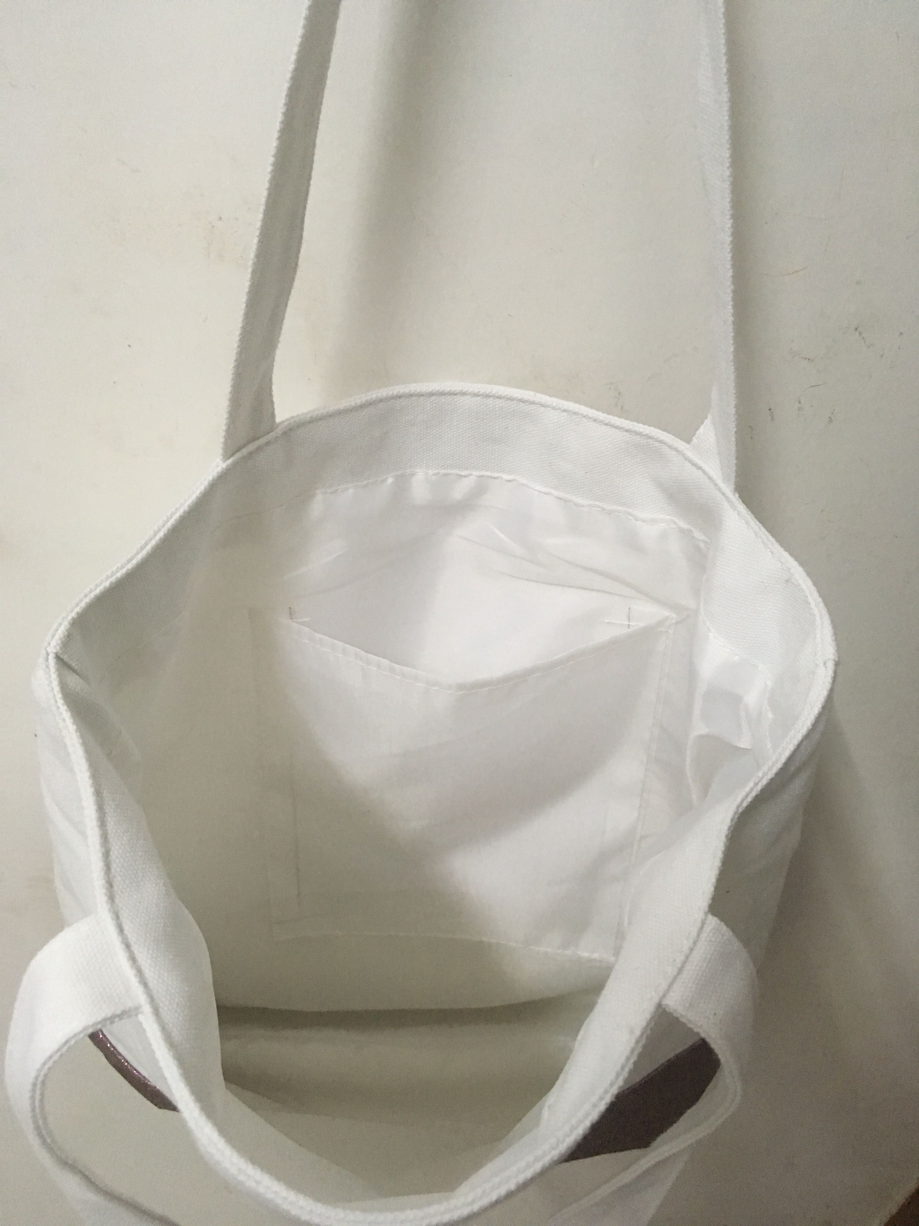 Lined Canvas Tote Bag