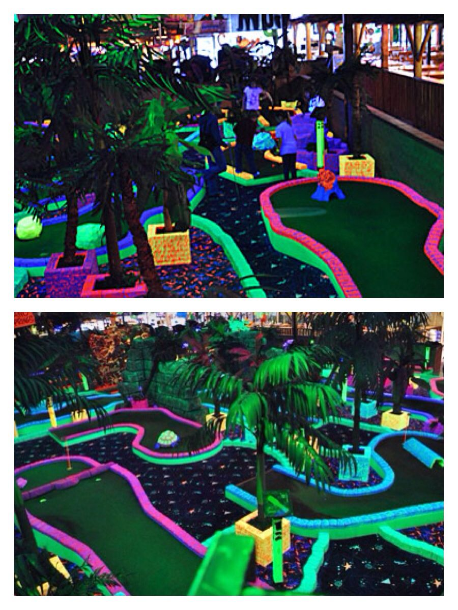 Date Idea - Go play glow in the dark mini-golf together! Find someone that makes your heart glow on www.PyaarStory.com!