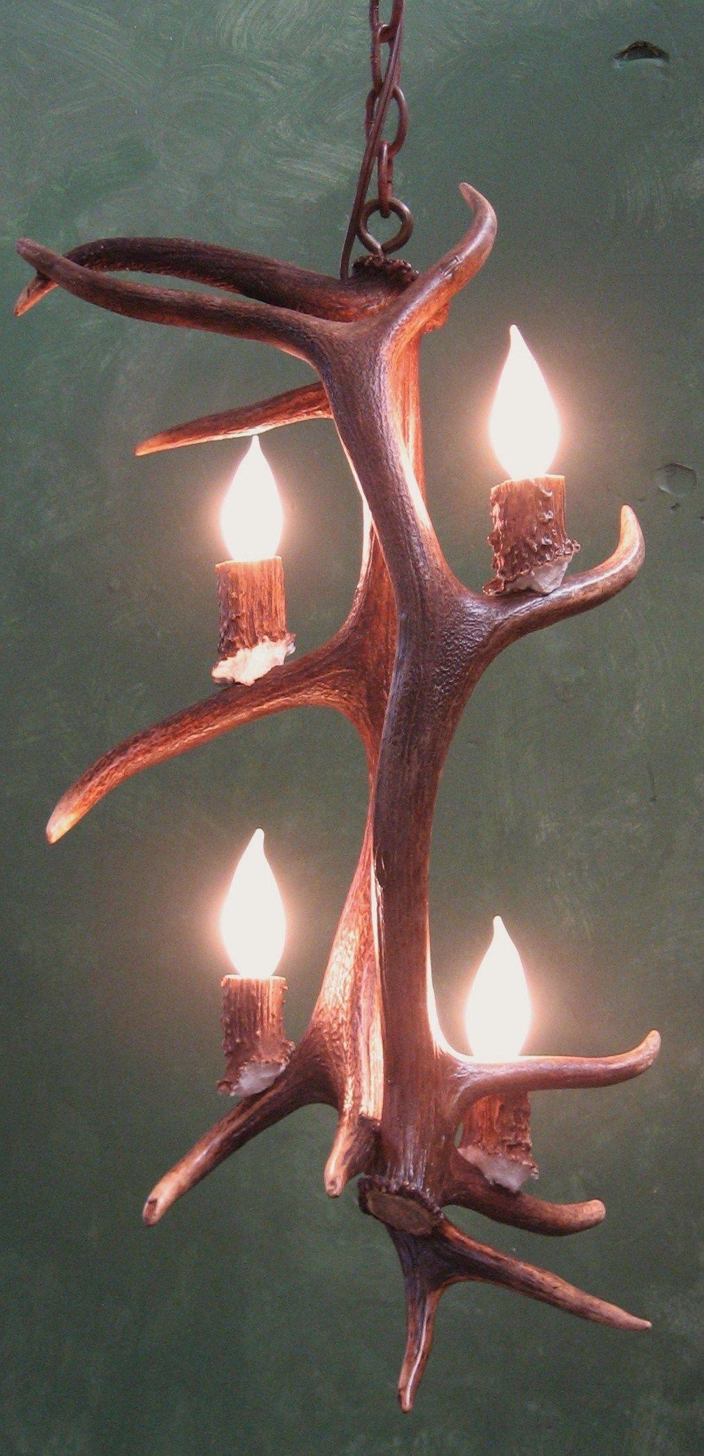 Elk Antler Chandelier Pendant is a very versatile new design It