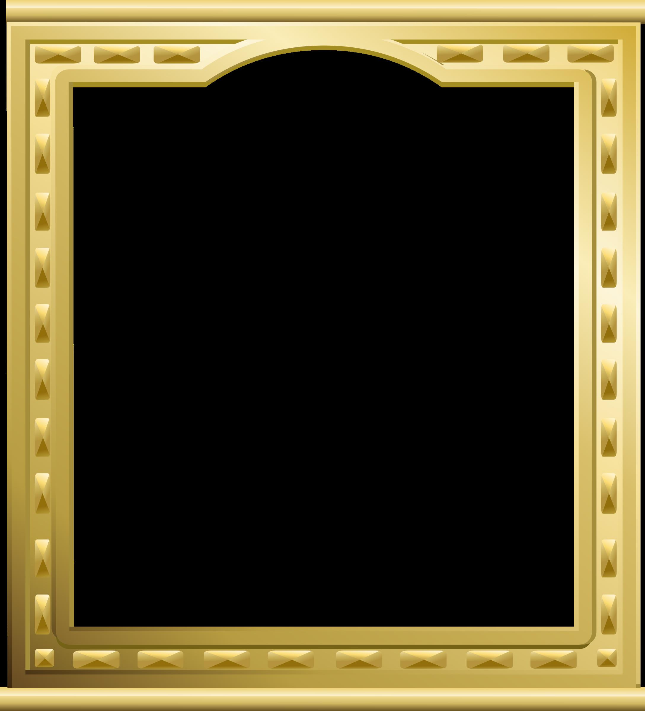 Golden frame | Comic book frames