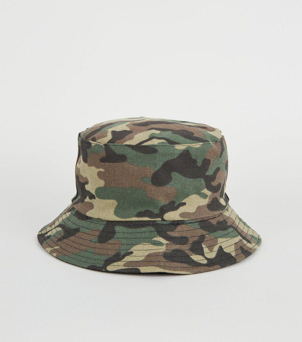 Green camo bucket hat in 2020 camo bucket hat bucket