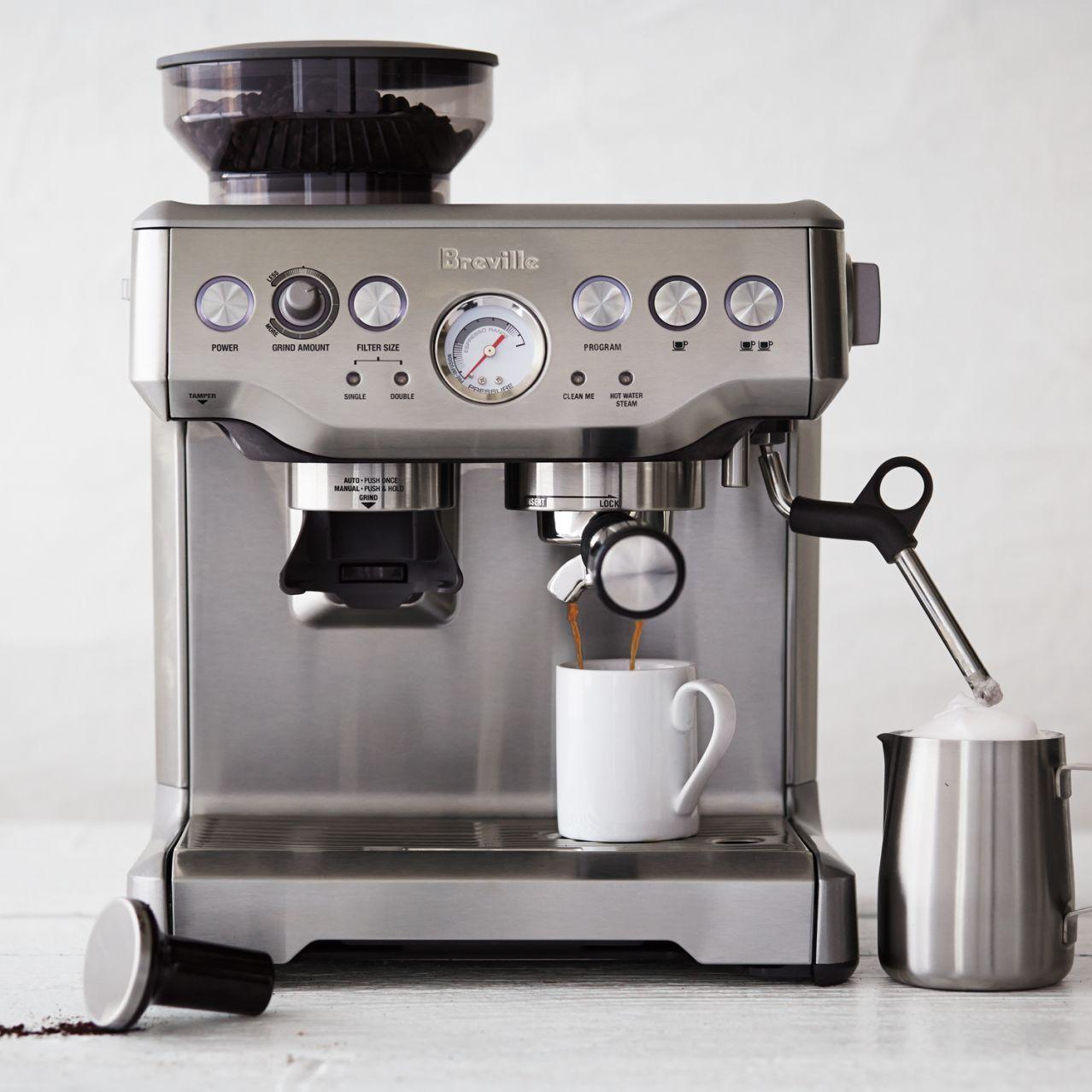 Breville Barista Express Espresso Machine Sur La Table Espresso Machine Espresso Breville Espresso Machine