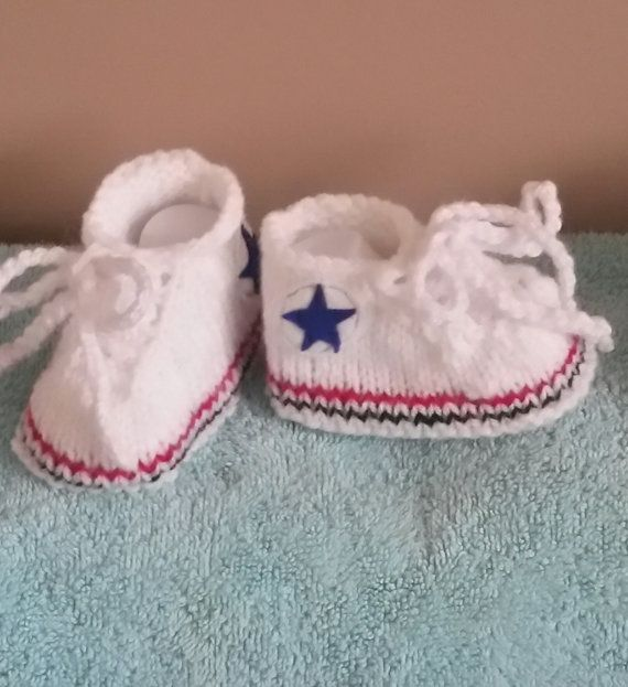 524fda2419f3 PDF Knitting pattern All Star Sneakers by HenniesNimbleneedles ...